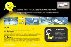 G2 Electrical Wholesale Knowles Timber Case Study