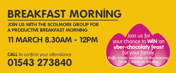 Breakfast Morning with Scolmore