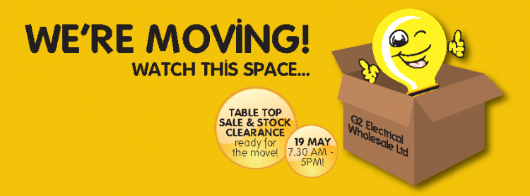 Table Top Event – We're Moving