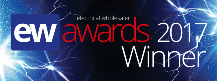 We won! Best Electrical Wholesaler Sole Branch 2017