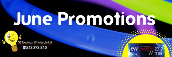 June 2017 Promotions