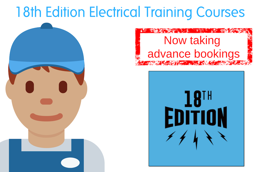 18th Edition Electrical Training Courses in Hednesford