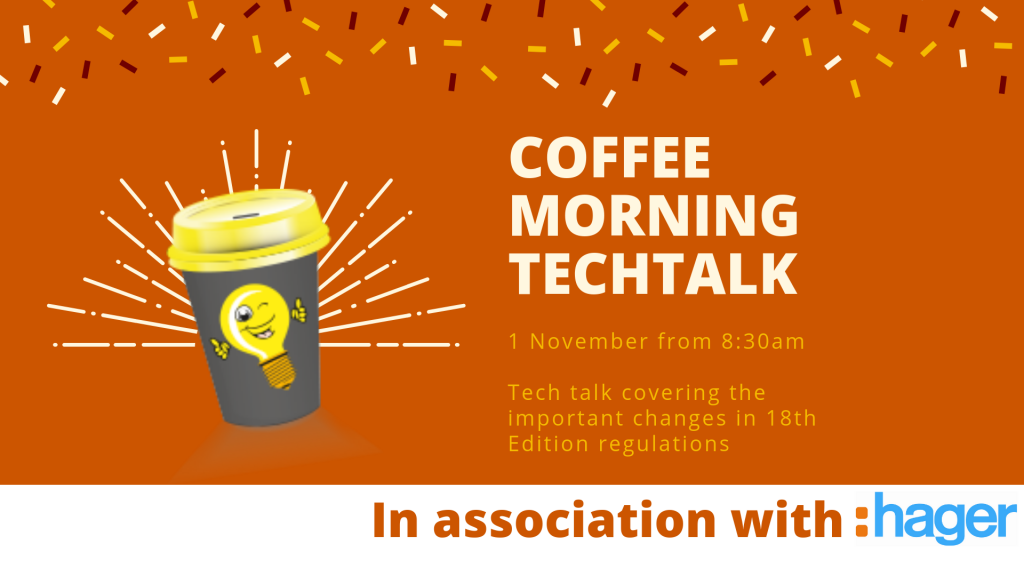 Coffee Tech Talk in association with Hager and D-Line