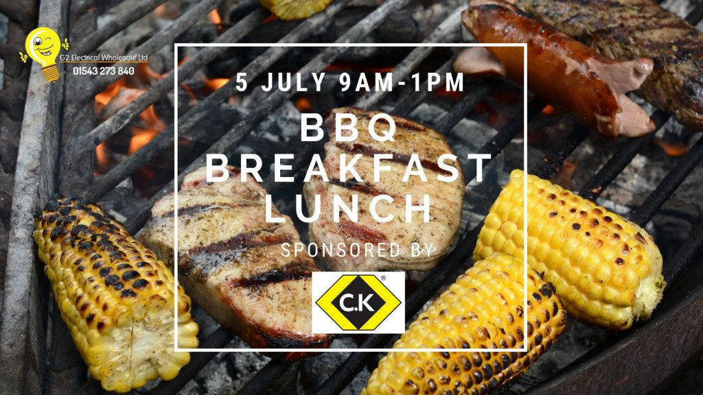 Summer BBQ Events at G2 Electrical Wholesale