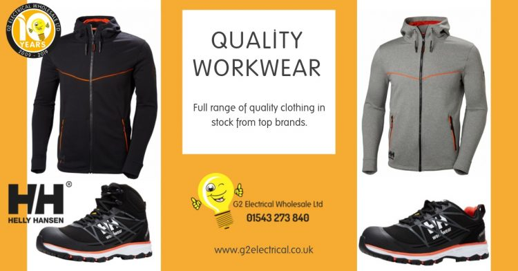 Leading trade workwear brands