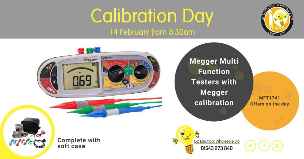Calibration Morning 14 February 2020 | G2 Electrical Wholesale